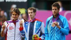 Juegos Olímpicos 2012: medallas en tenis para Murray, Federer y Del Potro