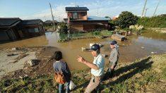 Tifón Mindulle asola Japón aproximándose a zonas pobladas