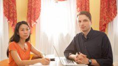 Una pareja lucha contra China por su familia