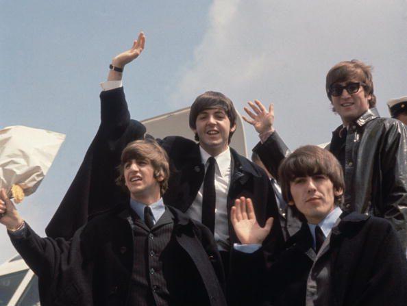 The Beatles: Paul McCartney y Ringo Starr asistieron a estreno de documental de mítica banda (foto Fox /Getty Images)