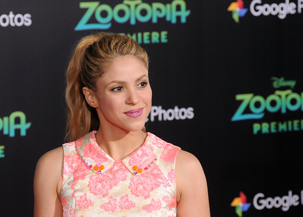 Shakira presenta nueva canción junto a Maluma (foto Barry King/Getty Images)