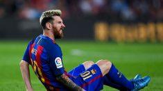 Messi se lesionó y no podrá jugar las próximas fechas de las Eliminatorias
