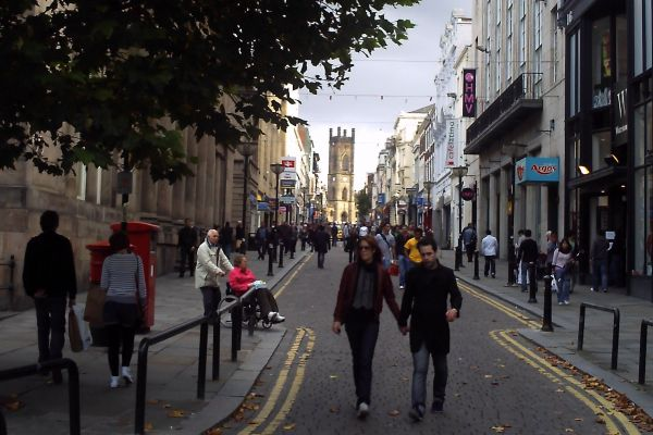 Bold Street, Liverpool, Inglaterra.