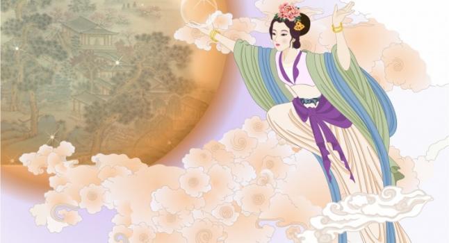 Chang E y la luz de la Luna (Ziyou Huang/La Gran Época)