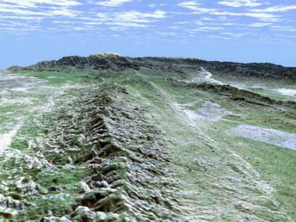 Falla de San Andrés. California. (Wikimedia)
