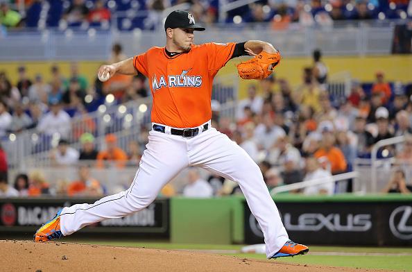 El pitcher de origen cubano José Fernández.(Foto: Mike Ehrmann/Getty Images)