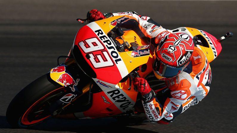 Marc Marquez de España y Repsol Honda Team. (Foto de Cameron Spencer/Getty Images)