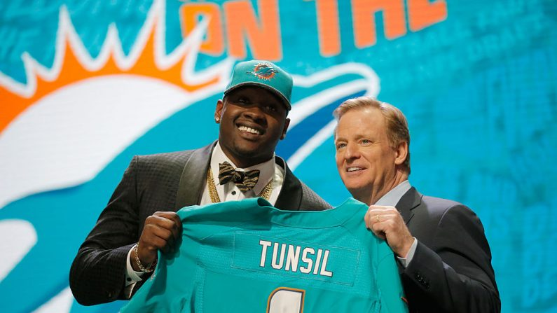 Laremy Tunsil. (Foto por Jon Durr/Getty Images)