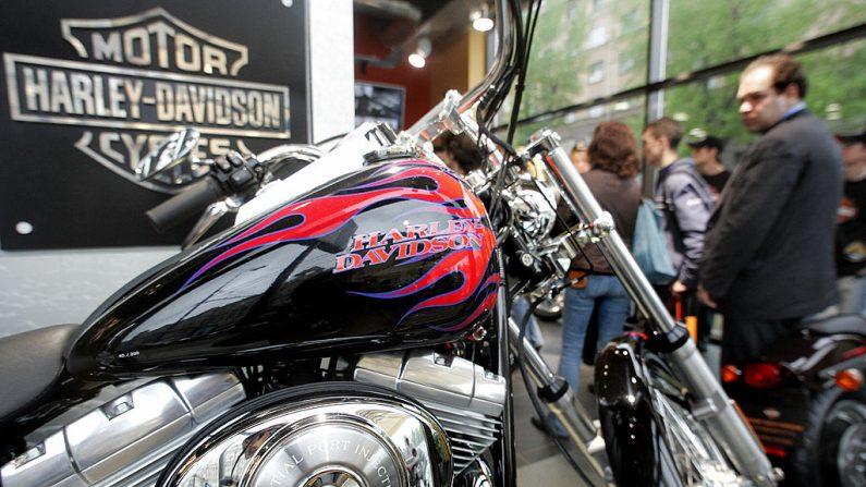 Moto Harley-Davidson (foto ALEXANDER NEMENOV/AFP/Getty Images)