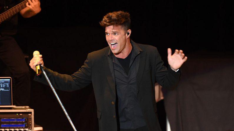 Ricky Martin suma un segundo concierto en Chile (foto Kevin Winter/Getty images)