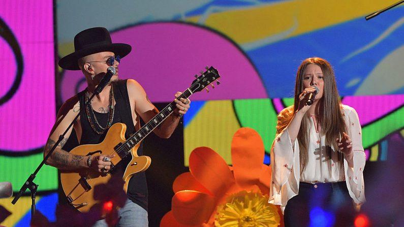 Premios Grammy Latino 2016. Jesse & Joy entre los favoritos (foto Rodrigo Varela/Getty Images for Univision)