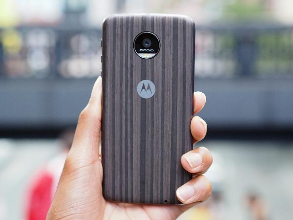 Moto Z (Foto: Paul Zimmerman/Getty Images for Motorola)