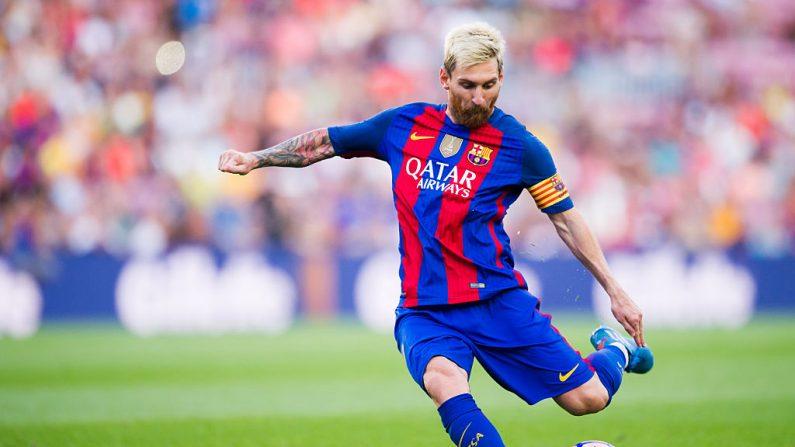 Lionel Messi. (Alex Caparros/Getty Images)
