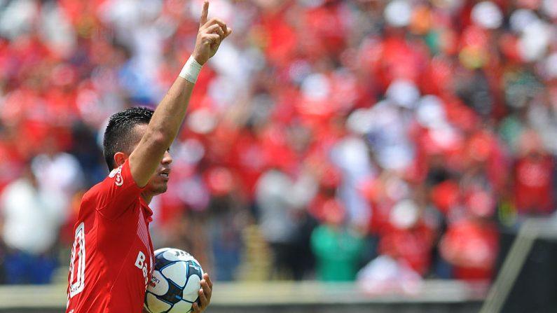 Fernando Uribe de Toluca. (MARIA CALLS/AFP/Getty Images)