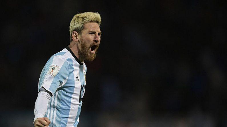 Lionel Messi declaró que quiere volver a jugar en Newell´s Old Boys de Rosario, Argentina. (JUAN MABROMATA / AFP / Getty Images)
