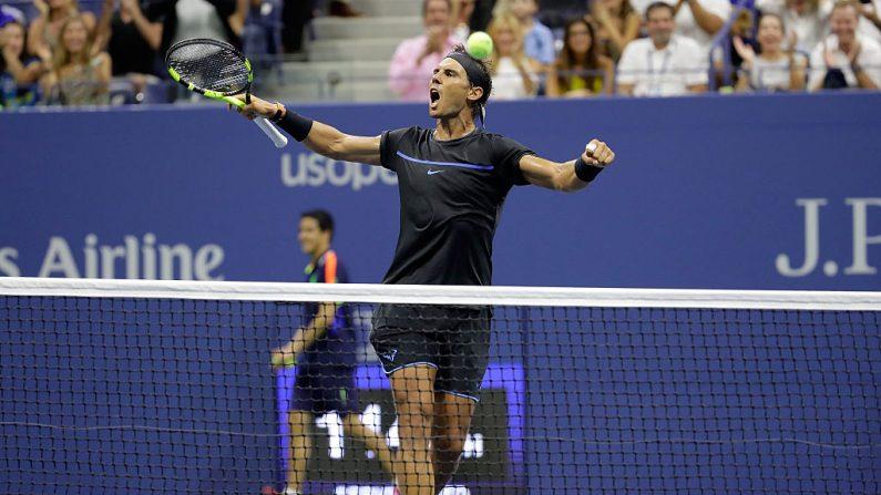 Rafael Nadal de España. (Foto por Andy Lyons/Getty Images)