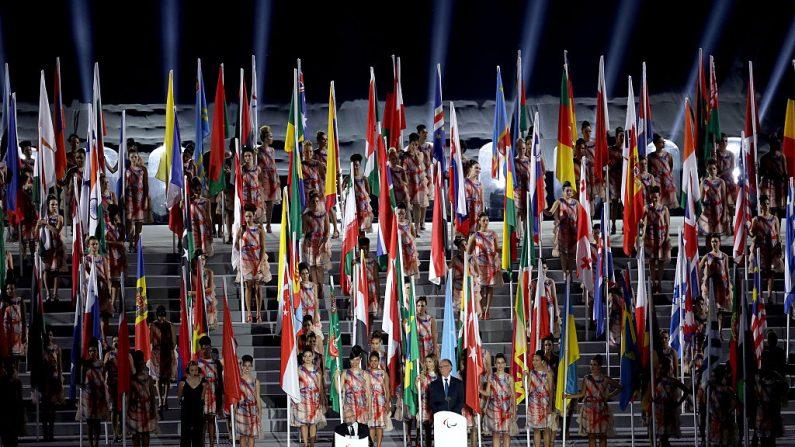 Ceremonia de inauguración de los Juegos Paralímpicos de Rio 2016 (Foto por Matthew Stockman/Getty Images)