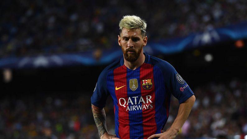 Lionel Messi de Barcelona. (Foto David Ramos/Getty Images)