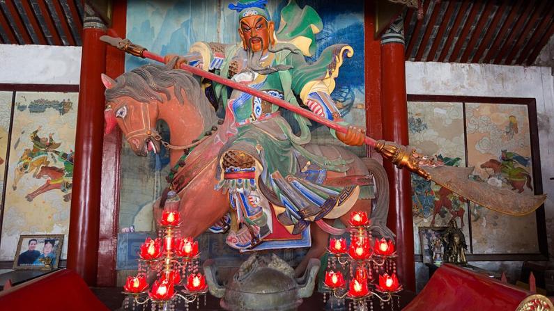 Estatua de Guan Yu  (templo Guan Yu - Xuchang). (Morio/CC BY-SA 4.0/ Wikimedia Commons)