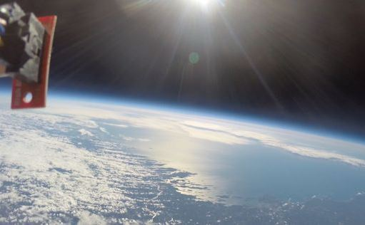 Rayos cósmicos. (SpaceWeather.com)