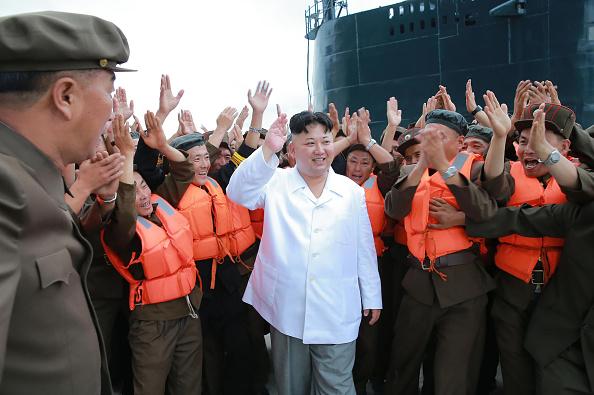 Kim Jong-un, Líder de Corea del Norte. Foto: KNS/AFP/Getty Images)