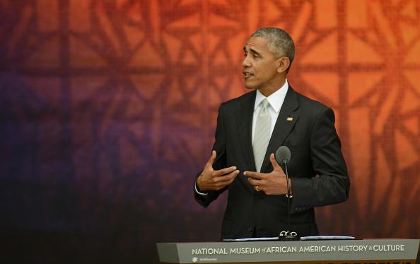 El presidente Barack Obama en la inauguración del Museo Nacional de la Historia y Cultura Afroamericana, 24 de septiembre de 2016. (Foto: Astrid Riecken/Getty Images)