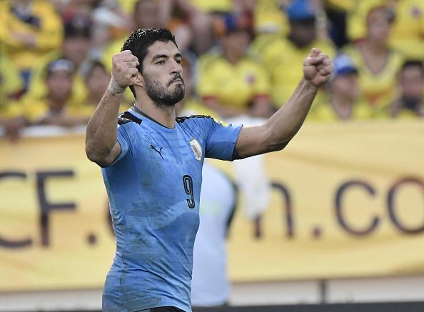 Luis Suárez de la selección de Uruguay. (Gabriel Aponte/LatinContent/Getty Images)