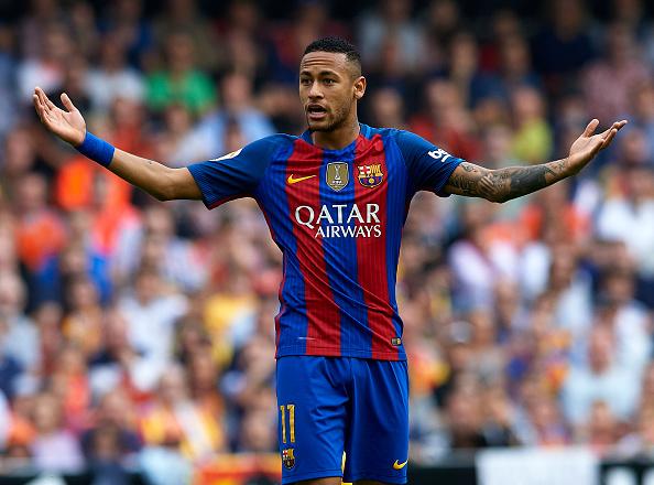 Neymar JR del Barcelona. (Manuel Queimadelos Alonso/Getty Images)