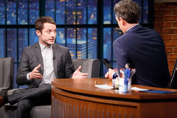 Elijah Wood está harto de ser confundido con Daniel Radcliffe (foto NBC/Getty Images)