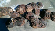 Estados Unidos: Matthew destapa bombas de la Guerra Civil en playa de Nueva Carolina