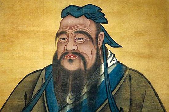 Confucio. (c. 551-479 BC), filósofo chino.(Dominio público)
