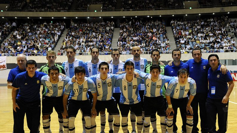 CAMPEONES - Argentina – FutSal 2016 (foto TOSHIFUMI KITAMURA, AFP/Getty Images)