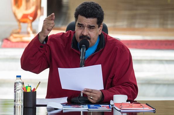 Nicolás Maduro. (Foto: FEDERICO PARRA/AFP/Getty Images)