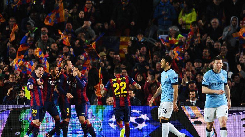 Barcelona y Manchester City. (Foto de David Ramos/Getty Images)