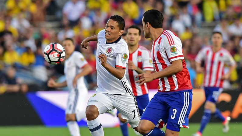 Paraguay vs Colombia (foto FREDERIC J. BROWN/AFP/Getty Images)