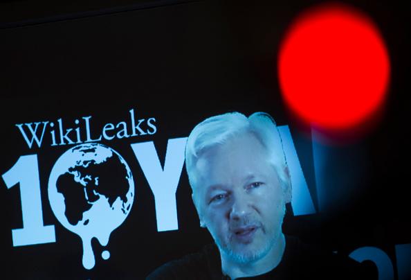 Julian Assange fundador de WikiLeaks (Foto: LOOS/AFP/Getty Images)