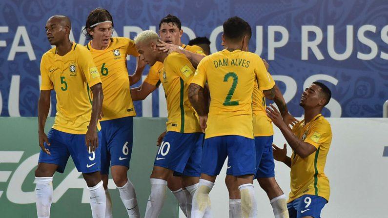 Brasil buscará mantener el liderazgo de las Eliminatorias Rusia 2018. (NELSON ALMEIDA/AFP/Getty Images)