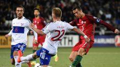 Eliminatoria Rusia 2018: Portugal golea a  Islas Feroe