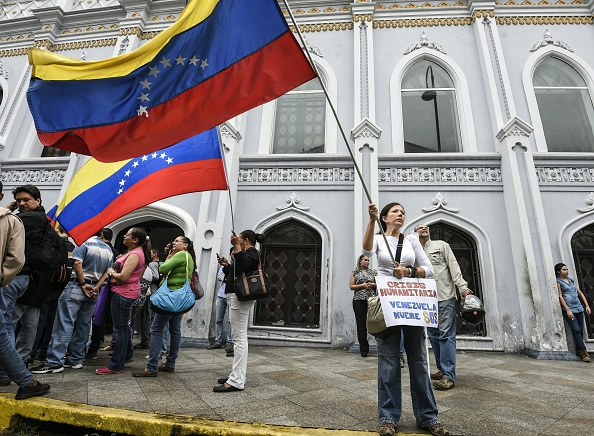 En las calles de Venezuela (Foto: JUAN BARRETO/AFP/Getty Images)