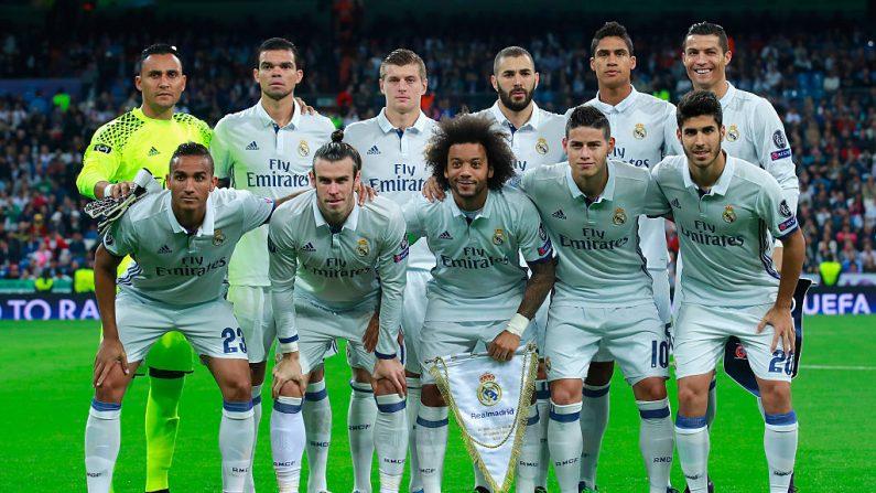 Real Madrid goleó 5-1 al Legia Varsovia  (foto Gonzalo Arroyo Moreno/Getty Images)