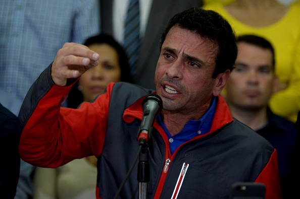 Henrique Capriles (Foto: FEDERICO PARRA/AFP/Getty Images)