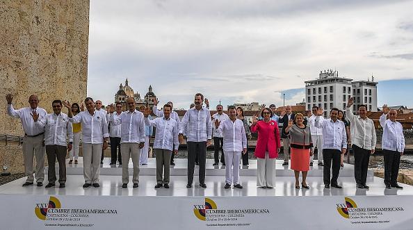 Cumbre Iberoamericana, en Cartagena, Colombia (Foto: LUIS ACOSTA/AFP/Getty Images)
