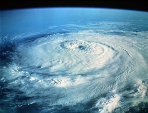 Huracán Elena en el Golfo de México. Foto: InterNetwork Media. Getty Images