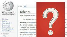 ¿Se puede confiar en lo que Wikipedia dice sobre la ciencia?