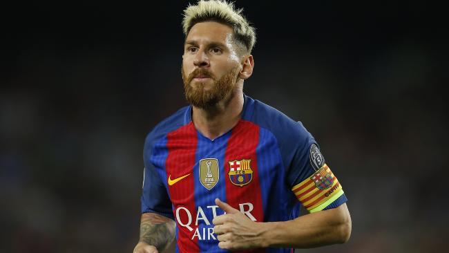 Lionel Messi del Barcelona FC.