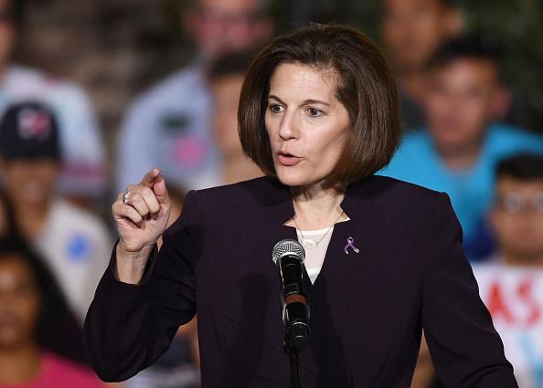 Catherine Cortez Masto, política demócrata de origen latino (Foto: Miller/Getty Images)
