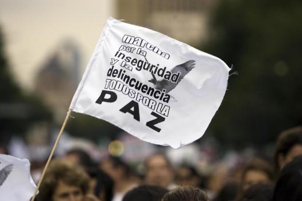 Últimas noticias de México hoy: 7 de cada 10 ciudadanos se sienten inseguros, según el Inegi. (Photo credit should read ALFREDO ESTRELLA/AFP/Getty Images)