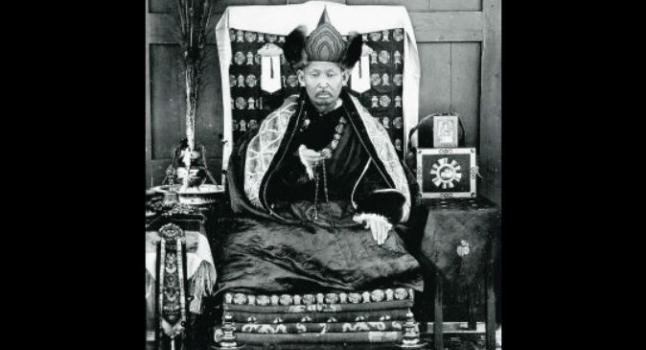 Dashi-Dorzho Itigilov (1852-1927). El 27 de enero de 2015 se encuentra momia meditando en posición de loto, en Mongolia; se dice que posiblemente sea Itigilov. (Wikimedia Commons)