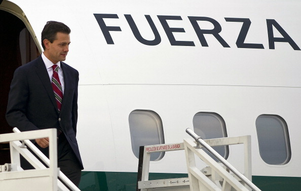 Presidente de México Enrique Peña Nieto (Foto  RAUL ARBOLEDA/AFP/Getty Images)