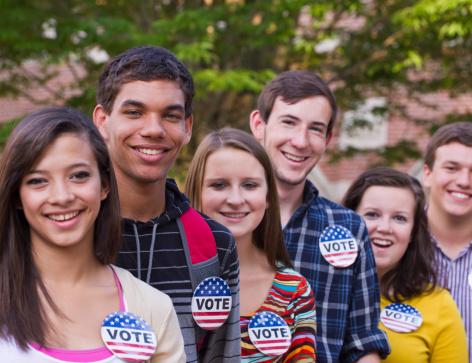 Voto Latino.  Foto: Ariel Skelley/Getty Images